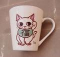 招き猫カップ-2