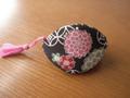 a mano 貝の口パックンポーチ 正絹と化繊 シリーズ