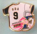 日本ハム◆2008年ピンズ【ODA-9】