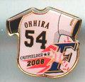 日本ハム◆2008年ピンズ【OHHIRA-54】