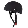 TNK TS-29B ダックテールヘルメット M.BLACK ビッグサイズ(60-62cm未満)