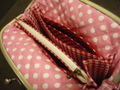 ちょっと大きめ長財布ポーチ型紙の蛇腹部分の型紙レシピ