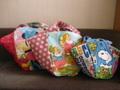 マルシェ型サマーバッグ型紙 中サイズ