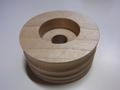コバ磨き用 木バフ 穴径:12.7mm アウトレット