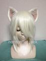猫耳ウィッグ 白