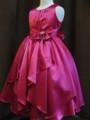 ◆送料お得プラン商品◆(G-130-74)リボんが素敵なドレス130cm