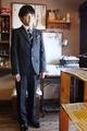 (B-150-11)HIROMICHI NAKANOのスーツ150cm