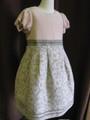 (G-110-42)組曲の上品なワンピースドレス(110~120cm)