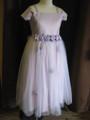 ◆送料お得プラン商品◆(G-140-23)お花のドレス(パープル)