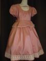 (G-140-22)上品なピンクのドレス140cm