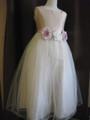 (G-150-31)上品なピンクのドレス150cm