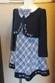(G-120-59)紺のスーツ120cm