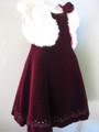 ◆送料お得プラン商品◆(G-110-44)BEBEの上質なドレス110cm