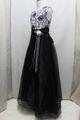 ◆送料お得プラン商品◆(G-140-7)黒のロングドレス140cm