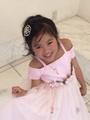 ◆送料お得プラン商品◆(G-110-14)お花のドレス110cm