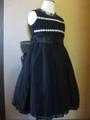 (G-110-52)ブラックのドレス110cm