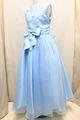 (G-140-9)ブルーのドレス140cm
