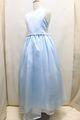 (G-150-13)ブルーのロング丈ドレス