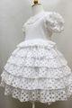 ◆送料お得プラン商品◆(G-100-5)シャーリーテンプルのドレス100cm