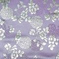 予約限定:文様絹 銀箔:1 薄紫