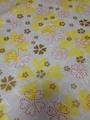 ハート花柄 黄色系