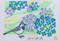 ポストカード・あじさい咲く頃(55)