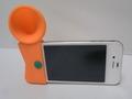 iphone シリコンラッパスピーカー[オレンジ]