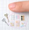 ボタン型二種セット(おまけ付き)【素材:BM】