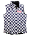 CHECKER DOWN VEST