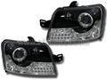 フィアット パンダ  ヘッドライト LEDデイライト&ウインカー 03-12