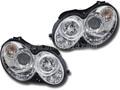 ベンツ CLK W209 LED イカリング ヘッドライト