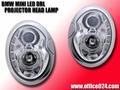 BMW ミニ LED イカリング プロジェクター ヘッドランプ MINI R50 R52 R53