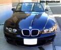 BMW Z3 E40 CCFL イカリング プロジェクターヘッドライト ブラック LED