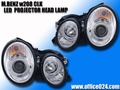 ベンツ CLK W208 CCFL イカリング ヘッドライト LED