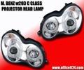 ベンツ C W203 CCFL イカリング ヘッドライト LED