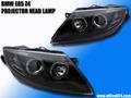 BMW Z4 E85 イカリング プロジェクターヘッドライト LED BK