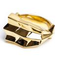 ALIVE 新ジュエリーライン「OSUSUME」EBI RING(エビ)GOLD リングサイズ19号