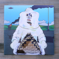 "POPYOIL CANVAS PRINT WORKS ""Fuckin Noisy World"""