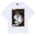 STUSSY x PoPPY OIL SINCE 1980 T-Shirt OIL WORKS Ver. | White, Black | 