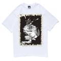 """STUSSY x PoPPY OIL """"SINCE 1980″ T-Shirt OIL WORKS Ver.   White, Black  """