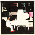 "POPYOIL CANVAS PRINT WORKS ""pianoman"""