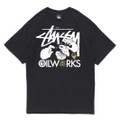 Stussy x Oilworks Tee Ver.2 -Event Special Color- [BLK/WHT]