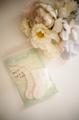FB-5.5プチサイズ用かぎ針編み靴下(きなり)