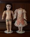 【型紙】FB-16sサイズのドレスの作り方(印刷版)アンティークジュモー8号共用可