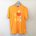 "I LOVE TOYA    JAPAN MADE T-SHIRTS ""LIGHT FIT"" [Shining lake/yellow]"