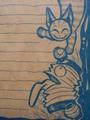 化け猫と提灯オバケ