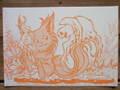 炎猫とロウソクオバケ