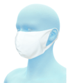 【再入荷☆送料無料】ハイブリッドタイプマスクAT(AATH半導体繊維)★キャンセル不可★
