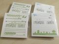 New付箋タイプ伝言メモ 4冊セット