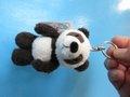 NICIちょいグレ?パンダのキーリング